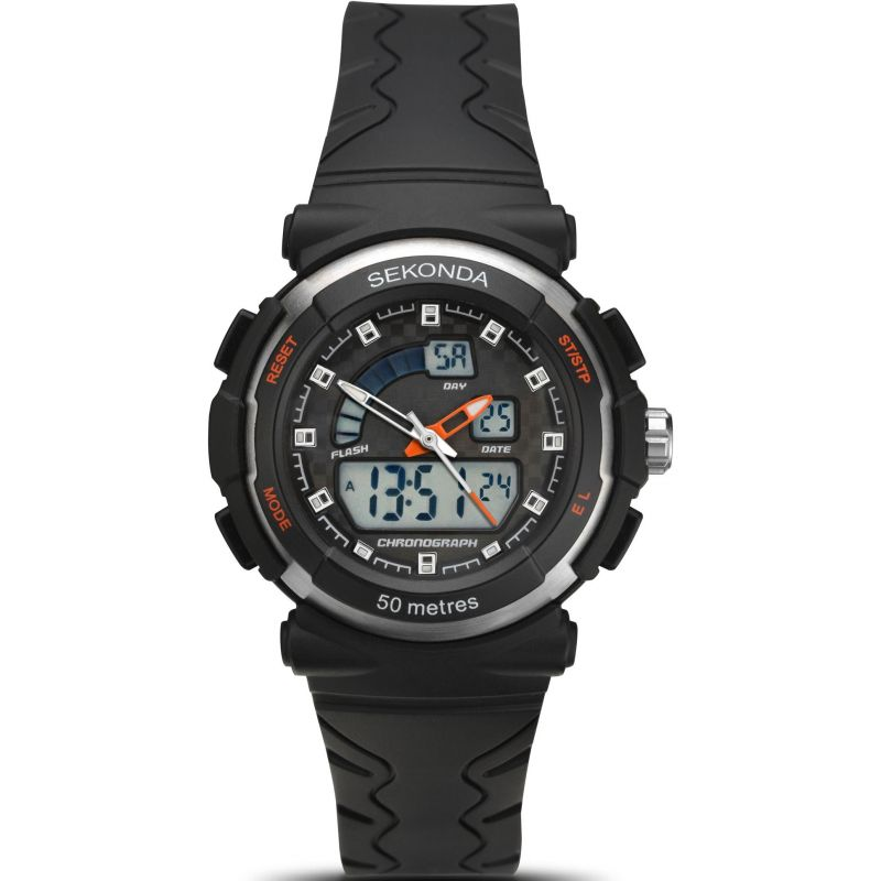 Image of            Ladies Sekonda Alarm Chronograph Watch