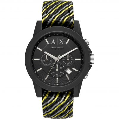 Mens Armani Exchange Chronograph Watch AX1334