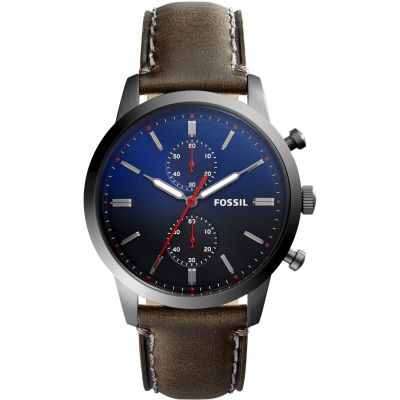 Mens Fossil Townsman Chronograph Watch FS5378