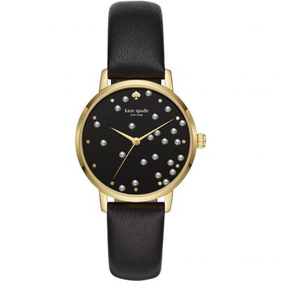 Kate Spade New York Metro Damenuhr in Schwarz KSW1395