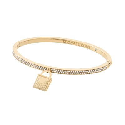 Ladies Michael Kors Gold Plated Fashion Bangle MKJ6993710