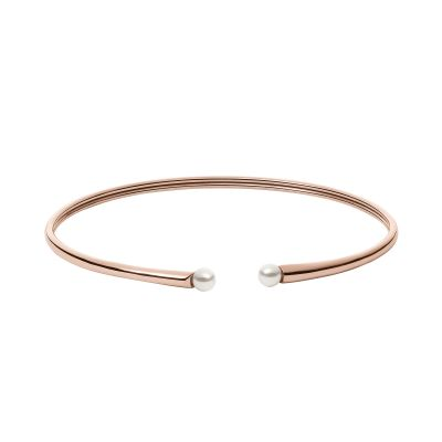 Ladies Skagen Rose Gold Plated Agnethe Bangle SKJ1062791