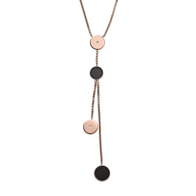 Ladies Skagen Rose Gold Plated Ellen Necklace SKJ1068791
