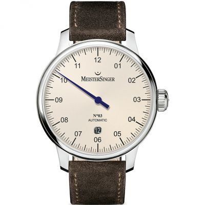 Mens Meistersinger No 03 40mm Automatic Watch DM903
