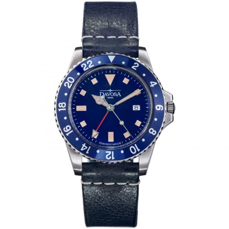 Mens Davosa Vintage Diver Watch