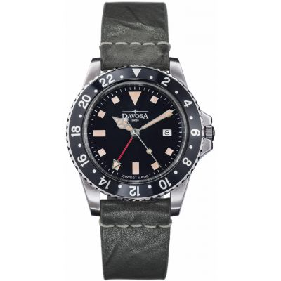 Mens Davosa Vintage Diver Watch 16250055