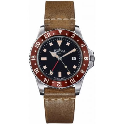 Mens Davosa Vintage Diver Watch 16250065