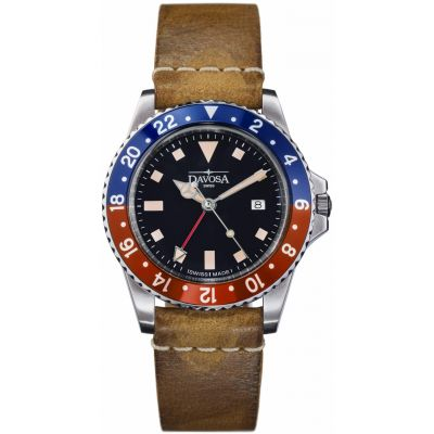 Mens Davosa Vintage Diver Watch 16250095
