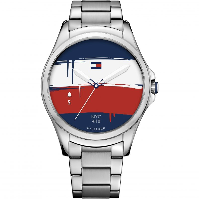 Unisex Tommy Hilfiger TH 24-7 Bluetooth Android Wear Watch