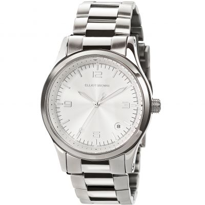 Elliot Brown Kimmeridge Damklocka Silver 405-002-B52