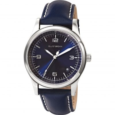 Elliot Brown Kimmeridge Damenuhr in Blau 405-003-L52