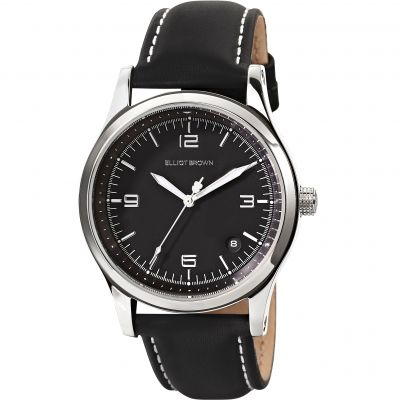 Elliot Brown Kimmeridge Damenuhr in Schwarz 405-005-L58