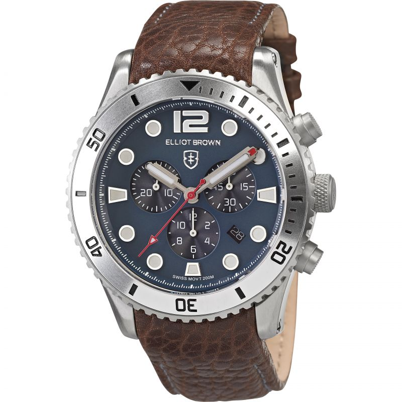 Mens Elliot Brown Bloxworth Chronograph Watch 929-015-L16