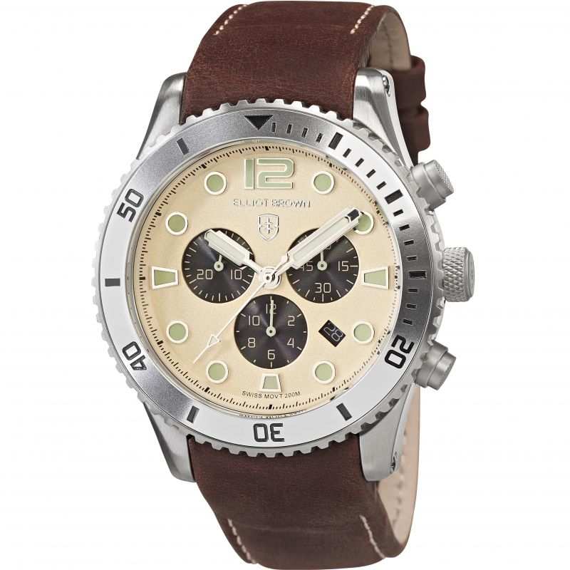 Mens Elliot Brown Bloxworth Chronograph Watch 929-014-L18