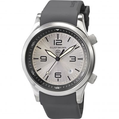 Elliot Brown Canford Herrenuhr in Grau 202-016-R10