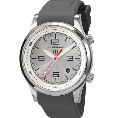 Elliot Brown Canford Herrenuhr in Grau 202-017-R10