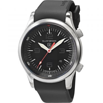 Elliot Brown Canford Herrenuhr in Schwarz 202-020-R01