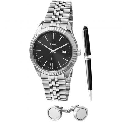 Limit Gift Set Herenhorloge Zilver 5525G.60