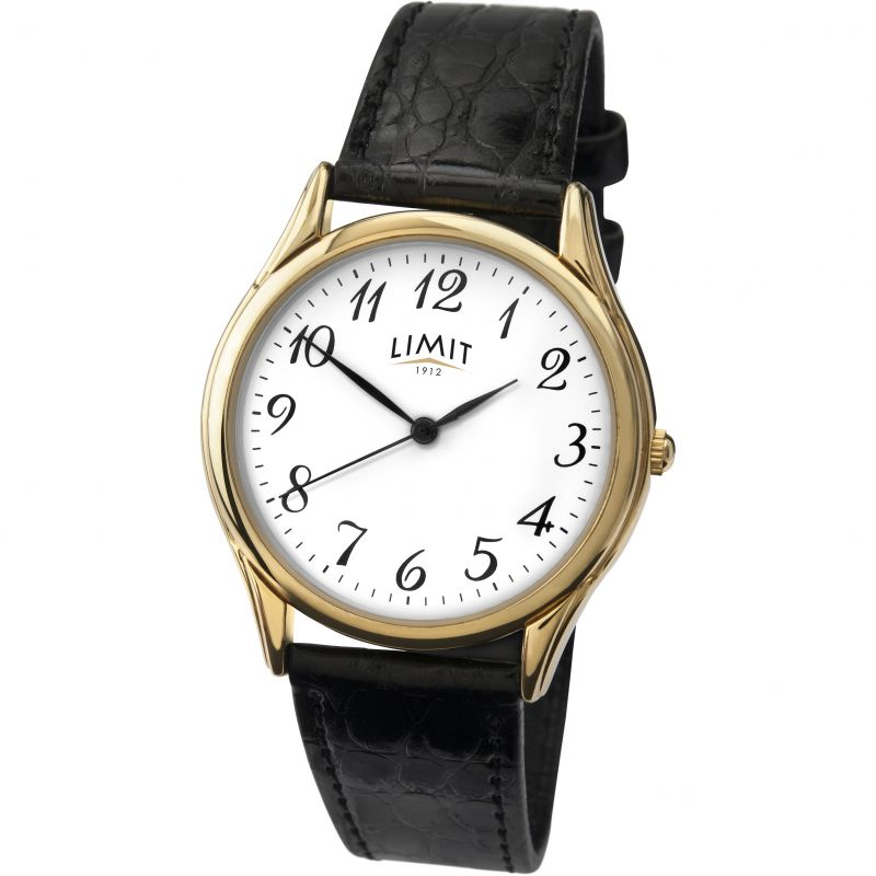 Mens Limit Gold PLated Classic Watch 5066.37