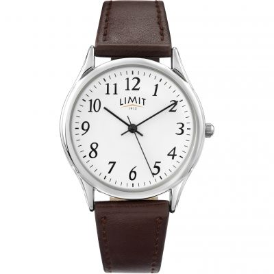 Mens Limit Silver Coloured Classic Watch 5447.37