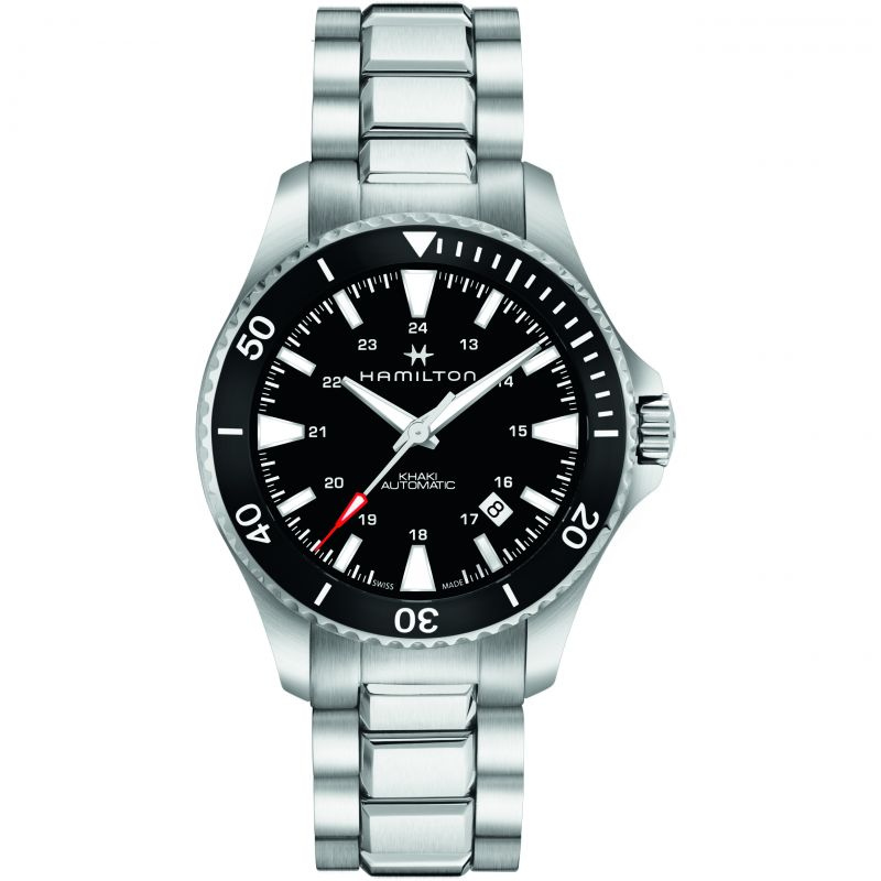 Mens Hamilton Khaki Navy Scuba Automatic Watch