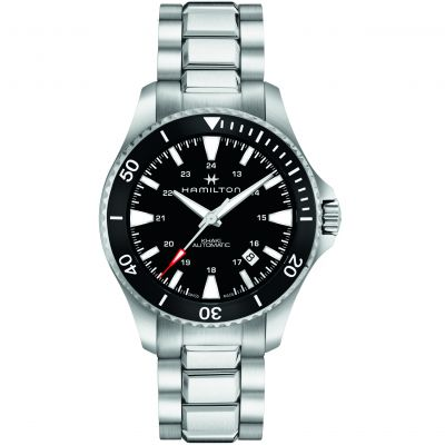 Mens Hamilton Khaki Navy Scuba Automatic Watch H82335131