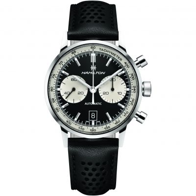 Hamilton Intramatic 68 Limited Edition Herrenchronograph in Schwarz H38716731