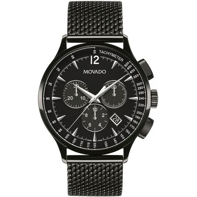 Mens Movado Circa Chronograph Watch 0606804