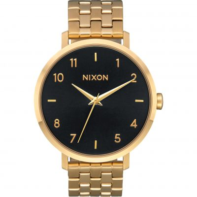 Nixon The Arrow Dameshorloge Goud A1090-2042