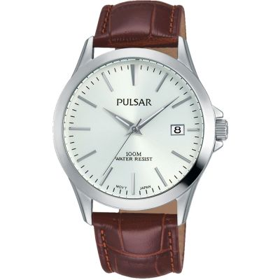 Pulsar Herrenuhr in Braun PS9455X1