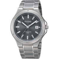 Mens Pulsar Titanium Watch PS9125X1