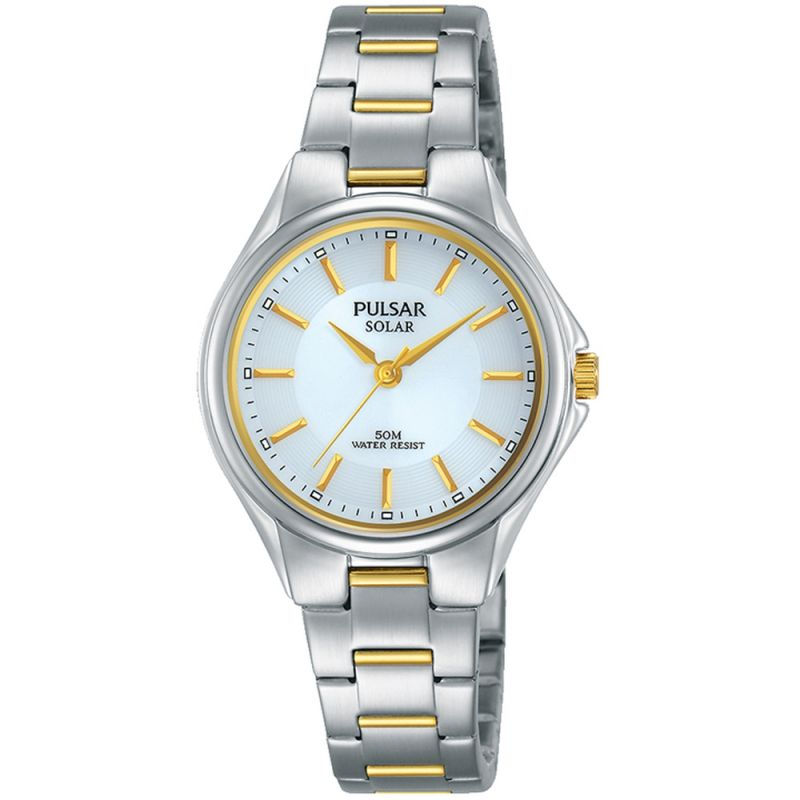 Image of  			   			  			   			  Ladies Pulsar Solar Solar Powered Watch
