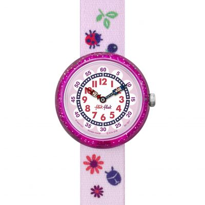 Flik Flak Autumn Colors Kinderuhr in Pink FBNP093