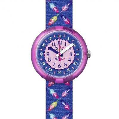 Flik Flak Cool Feather Kinderenhorloge Meerkleurig FPNP016