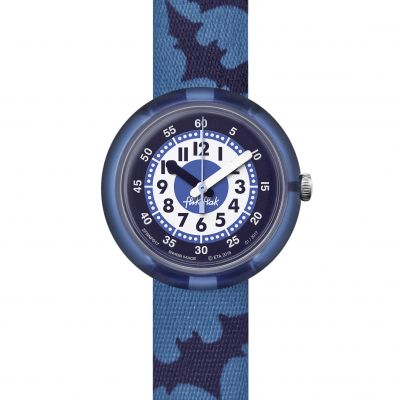 Flik Flak Night Guards Kinderenhorloge Blauw FPNP017