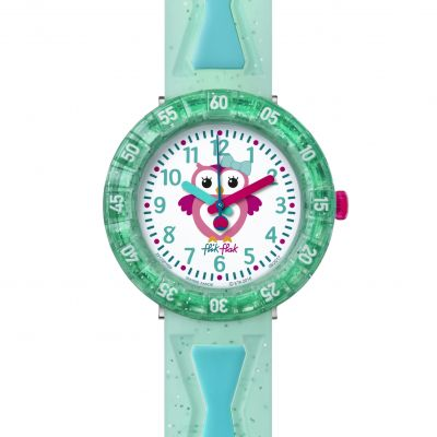 Childrens Flik Flak Get Minty Watch FCSP059
