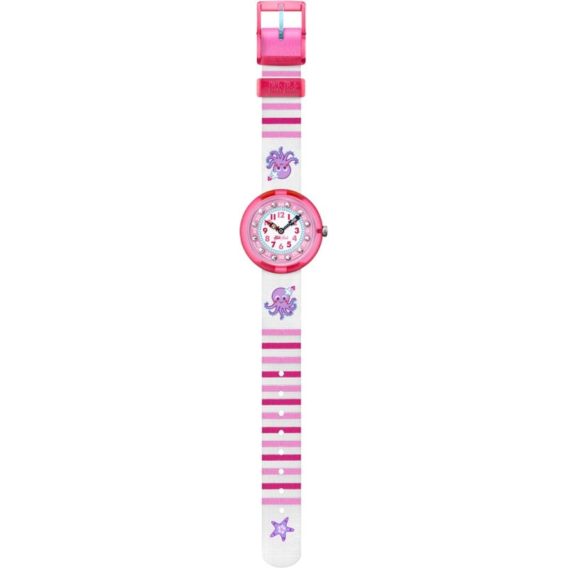 Childrens Flik Flak Octostripe Watch FBNP011C