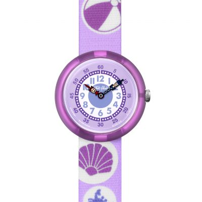Flik Flak Girlie Beach Kinderuhr in Lila FBNP087