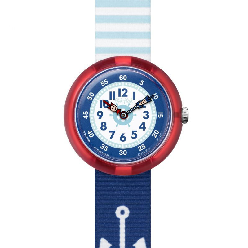 Childrens Flik Flak Matrose Watch FBNP090