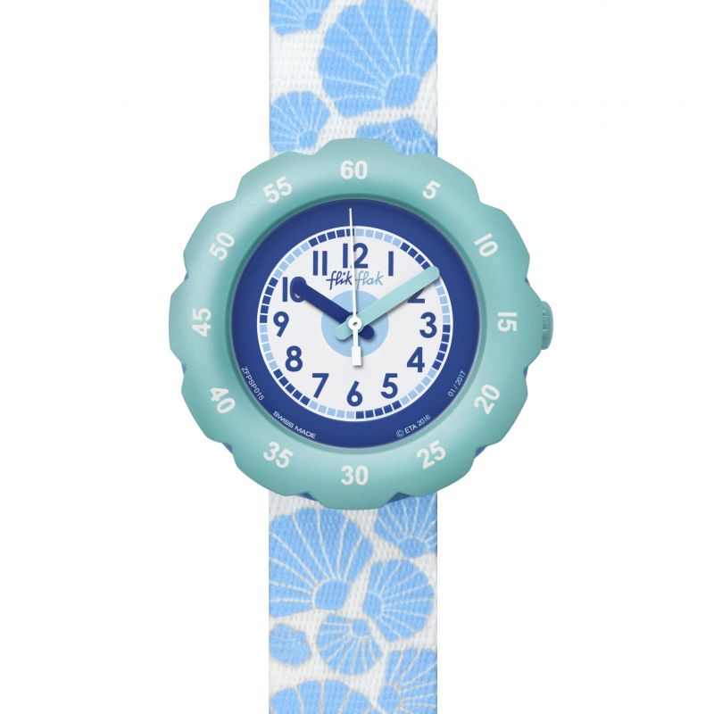 Childrens Flik Flak Soft Blue Watch FPSP015