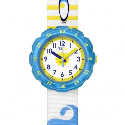 Childrens Flik Flak Waves Slide Watch FPSP018
