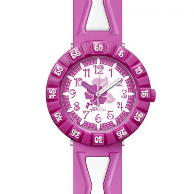 Childrens Flik Flak Hibipink Watch FCSP054