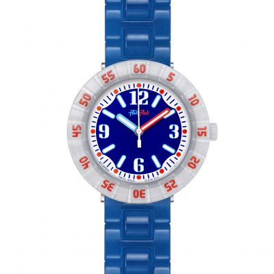 Childrens Flik Flak Snorkeling Blue Watch FCSP058