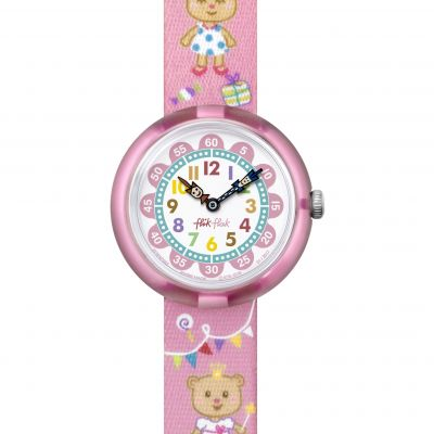 Flik Flak Lovely Party Kinderuhr in Pink FBNP083