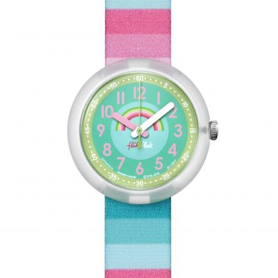Childrens Flik Flak Stripy Dreams Watch FPNP014