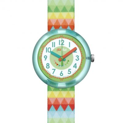 Childrens Flik Flak Sweet Flags Watch FPNP015