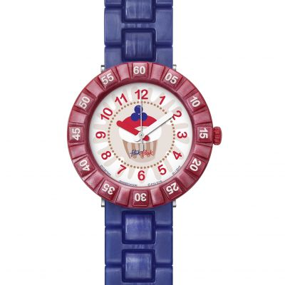 Childrens Flik Flak Purplelita Watch FCSP044