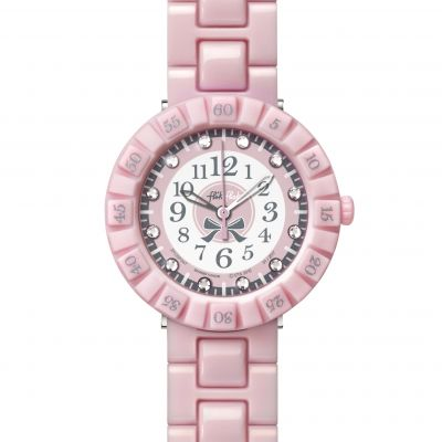 Childrens Flik Flak Pretty Rose Watch FCSP047
