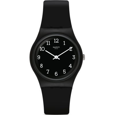 Swatch Blackway Unisexklocka Svart GB301