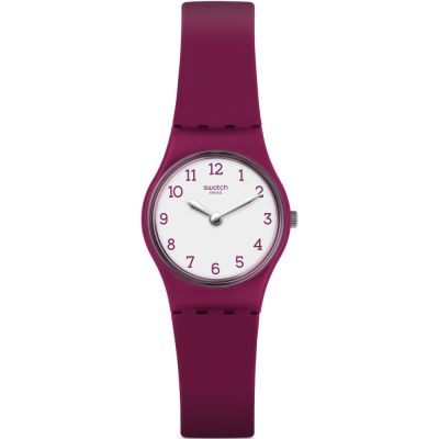 Swatch Originals Lady Redbelle Damenuhr in Lila LR130